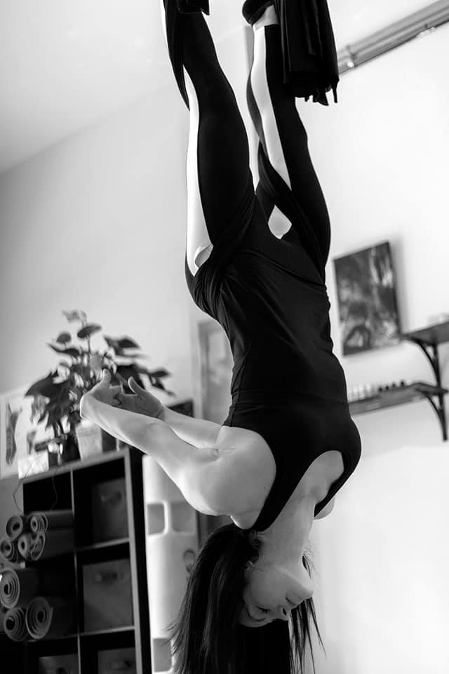 Aerial Yoga Inversion